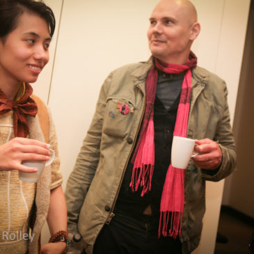 Billy Corgan and Art Shay